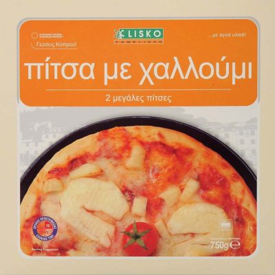 Pizza halloumi