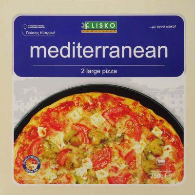 Pizza mediterranean