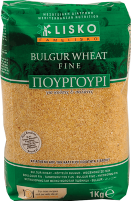 Bulgur wheat fine - 1kg